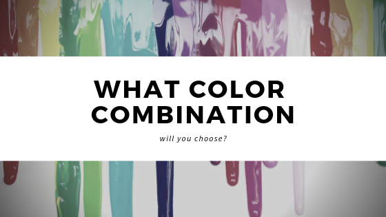 4 Current Color Combinations Straight Line Design