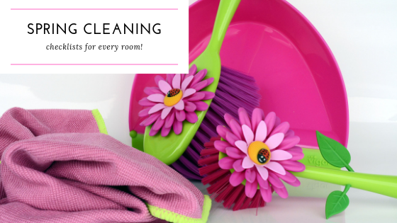 What's Your Spring Cleaning Plan?