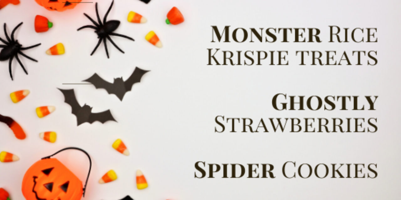 https://straightlinekitchens.com/wp-content/uploads/2019/10/Monster-Rice-Krispie-treats-Ghostly-Strawberries-Spider-Cookies-1280x640.png