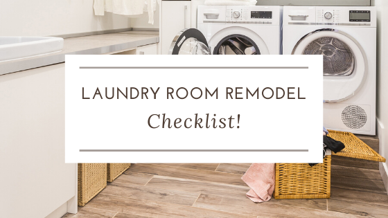 Laundry Room Remodel Checklist  U2013 Straight Line Design